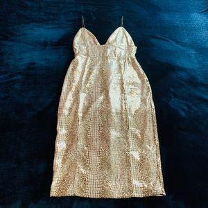Rare London -Sequined Midi Dress